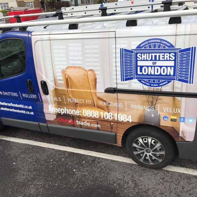 Shutters of London Van