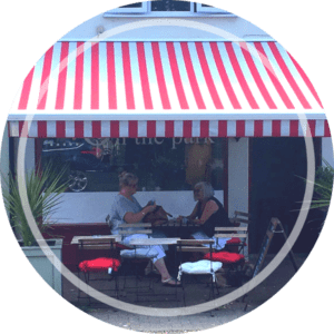 Awning Shop Cafe