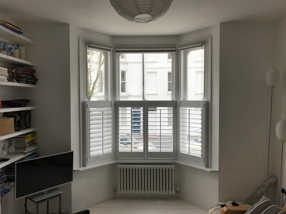 Half window shutters in sussex