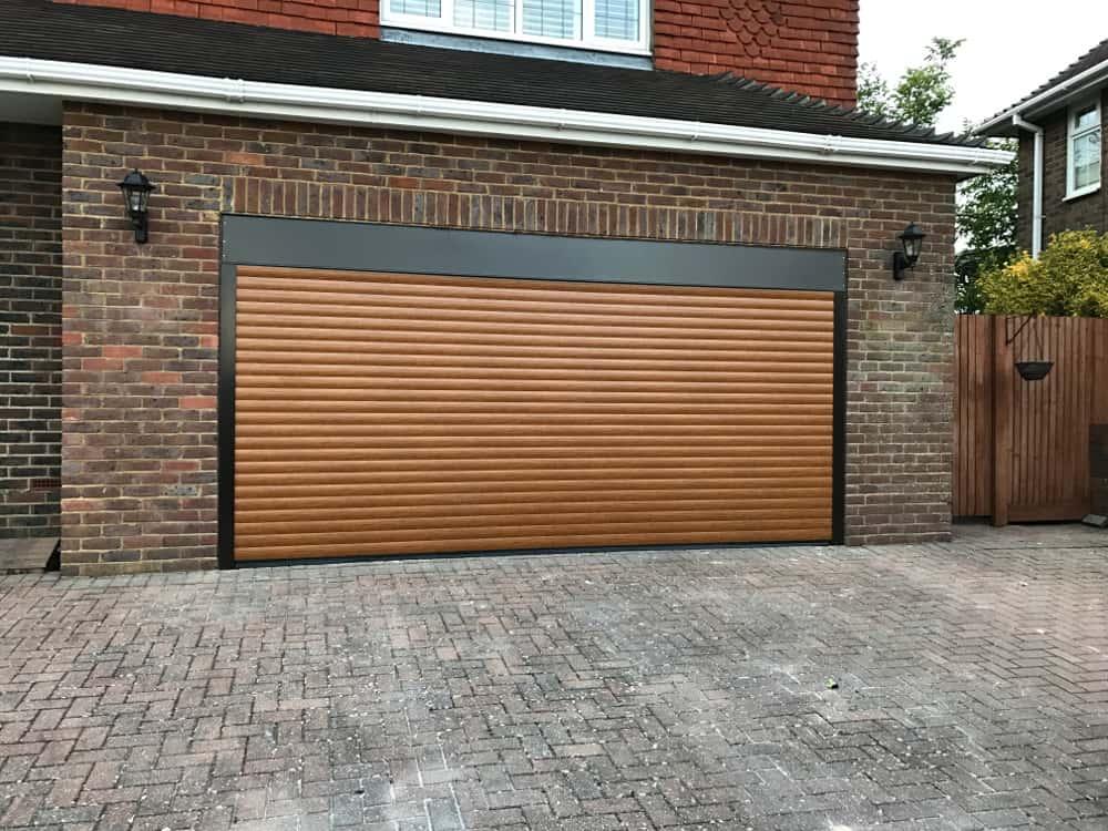Automatic Garage Door Shutters