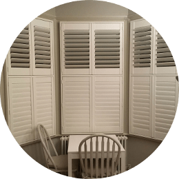 White full length Shutters