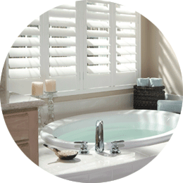 Battersea Waterproof Shutters for bathrooms and wetrooms
